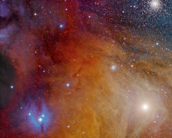 Antares and Clouds