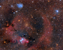 Cone Nebula and Friends