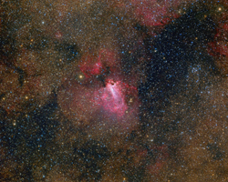 M17 - Omega Nebula Wide Field
