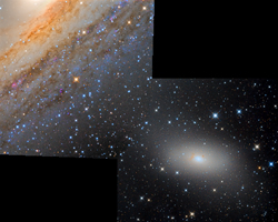 Stellar Bridge : M110 to M31