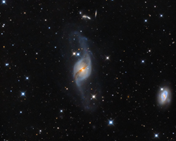 Galaxy Group NGC 3718, NGC 3729 and HG 56A