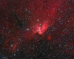 NGC7380 The Wizard Nebula - Widefield