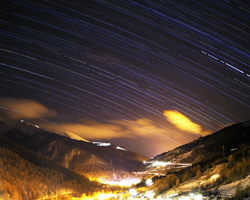 Sestriere Star Trails