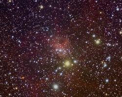 IC417 - The Spyder Nebula in Auriga