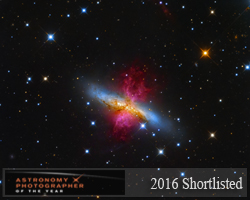 M82 - Starburst Galaxy with a Superwind